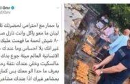 زين العمر يتعرّض لموقف محرج مع جبران باسيل بسبب المشاوي