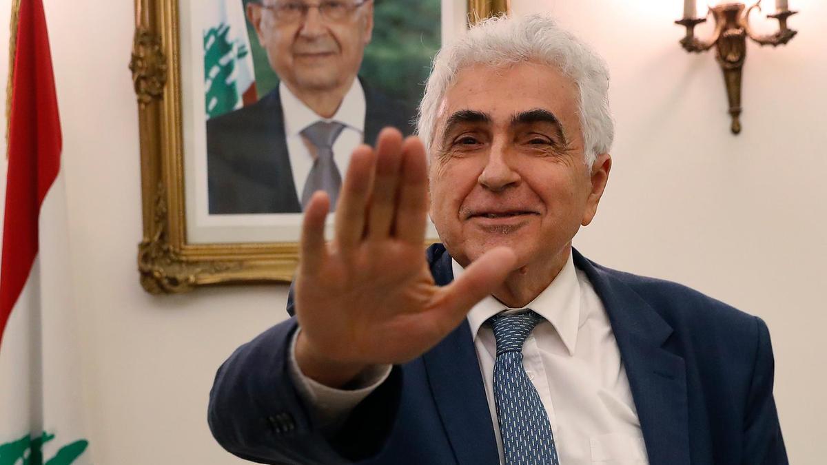 استقالة وزير الخارجية اللبنانية والبحث جار عن بديل كرتوني